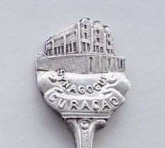 Collector Souvenir Spoon Curacao Willemstad Mikvé Israel Emanuel Synagogue - $16.99