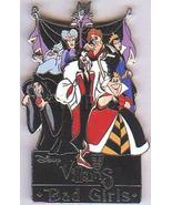 Disney Villains - Bad Girls Pin/Pins - $44.99