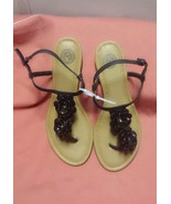 SO AUTHENTIC AMERICAN HERITAGE SLIP ON STRAPPY SANDAL SIZE  10 brand new - $12.99