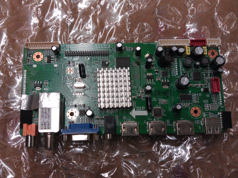 1B1H1798 Main Board From Scepter X322BV-HD LCD TV