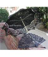 Full Lace Parasol Umbrella w/lace fan - STUNNING! - $44.00