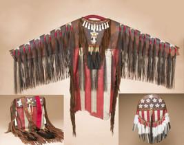 Native American Indian HandPainted Deer Skin FL... - $2,265.00