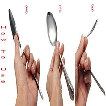 Magic Trick Perfect Bend Spoon Bending Gimmick Close-Up Magician Street Stage... image 8