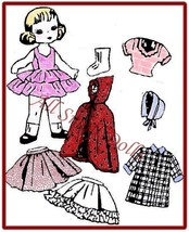 "Vintage Doll Clothing Pattern for 8"" Dolls ~ No. 2 - $5.99"