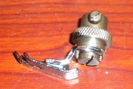 White Rotary Hinged Straight Stitch Foot w/Presser Foot Clamp - $20.00