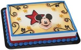 Item#42048 - Mickey and Friends, Mickey Mouse and Stars Edible Sugar Cak... - $10.99
