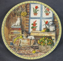 APPLE ANTICS Cozy Country Corners Collector Plate Hannah Hollister Ingmi... - $24.95
