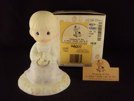 Precious Moments, 522287, Thinking Of You Is What I Really Like To Do, V... - $24.95