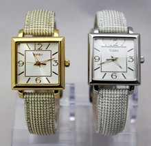 New TIMEX Classic Dial Shiny Band T2P3799J Silver / T2P378LM Gold Women Watches - $36.61+