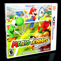 Mario Tennis Open Nintendo 3DS Video Game New - $29.99