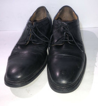 Cole Hann mens leather Black Oxford Shoes size 10 pre owned - $36.42