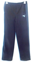 Puma Boys Athletic Pants Black Blue Size XLarge 18-20 NWT - $24.99
