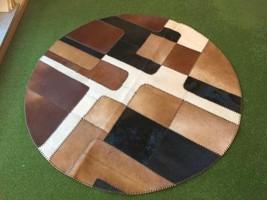 Cowhide rug Casa 867 - 5.6x5.6 ft. (172x172 cm) - $829.00