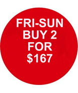 FRI-SUN PICK ANY 2 FOR $167 BEST OFFERS DEAL MA... - $0.00