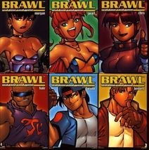 BRAWL -- TESS, CRANE, ALEX, GINA in Stock -- OUT-OF-PRINT -- Phil Foglio - $15.00