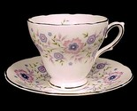 69299a fine bone china pink blue floral cup   saucer 1974 avon thumb155 crop