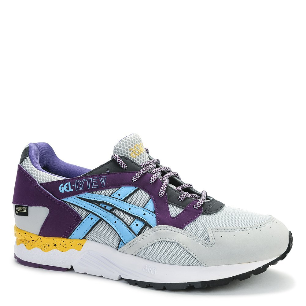 Asics Unisex Gel Lyte V Sneakers H429Y.1041 Soft Grey/Light Blue SZ 7 M (US)