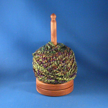 Cherry Yarn/Thread Holder - Natural Wax Finish - $32.50