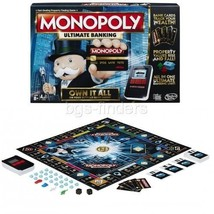 Monopoly Board Games: Ultimate Banking Edition Modern Version Tokens Fun... - $35.90