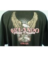 Harley-Davidson Black 5XL T-Shirt Orlando Flori... - $35.00