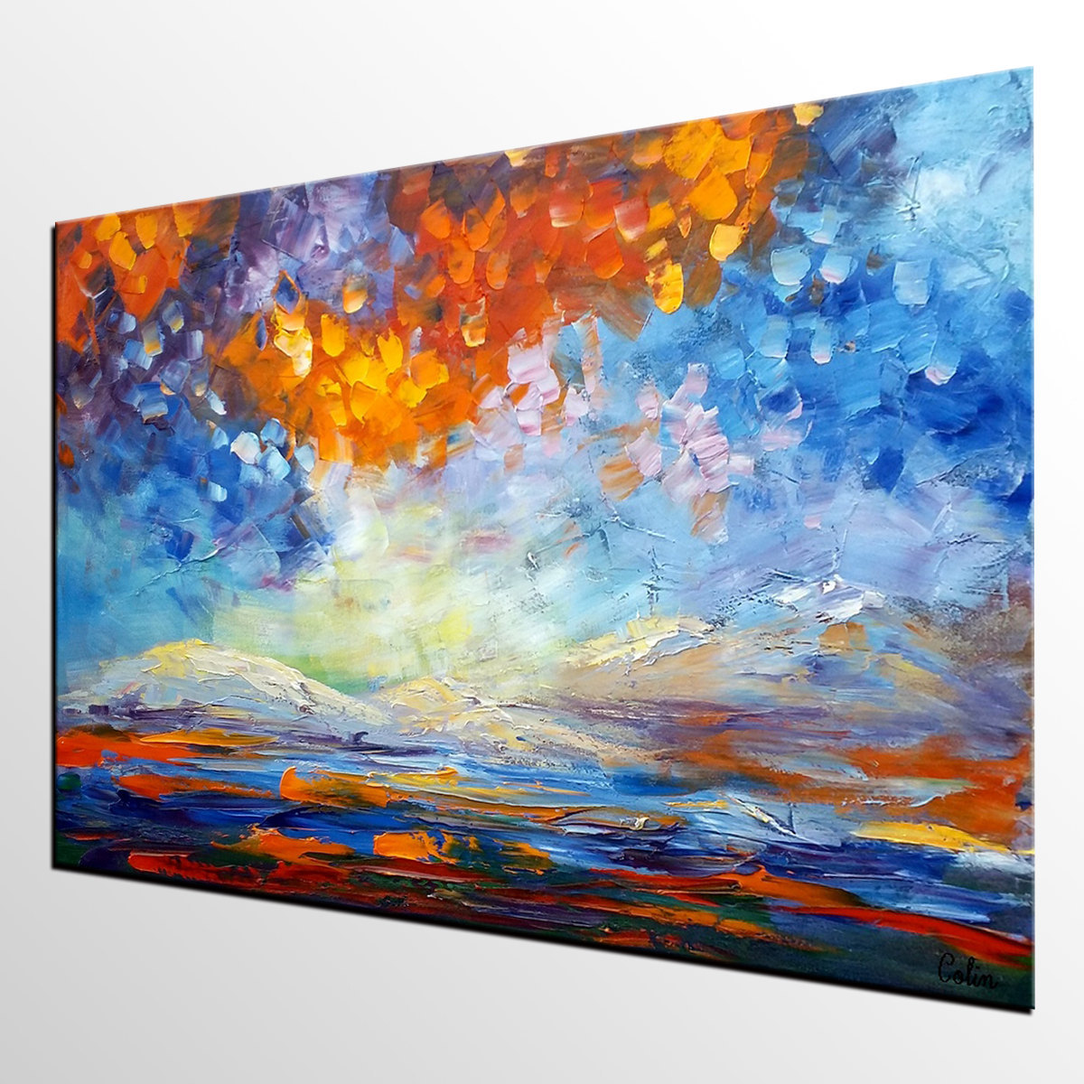 Extra Large Painting Canvas Art Oil Painting Large Art