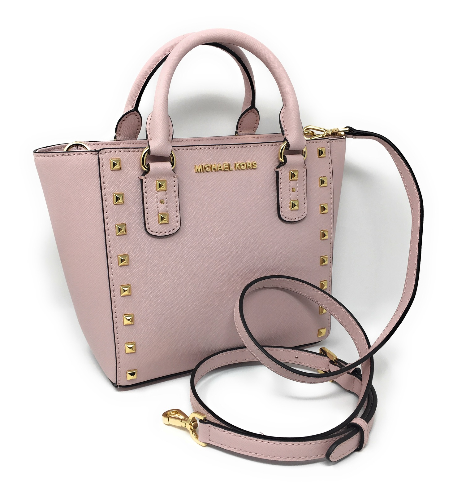 Michael Kors Sandrine Stud Small Leather and 50 similar items