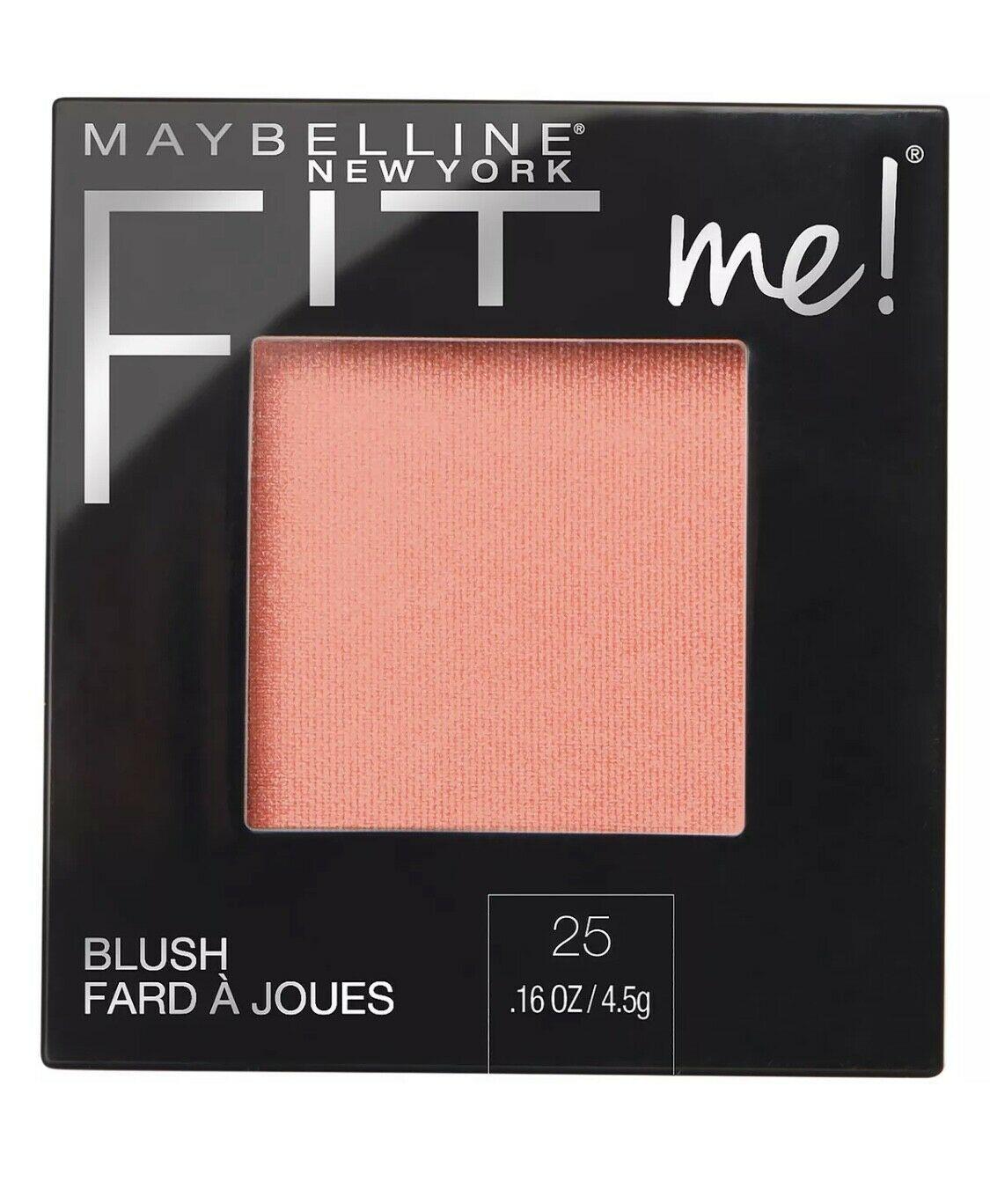 Maybelline Fit Me Blush 0.16 oz.  Beauty Makeup Skin Tone Enhancer - $7.99