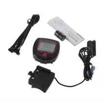 Bike Bicycle LCD Computer Odometer Speedometer Waterproof 15 Functions AH2 - €5,11 EUR