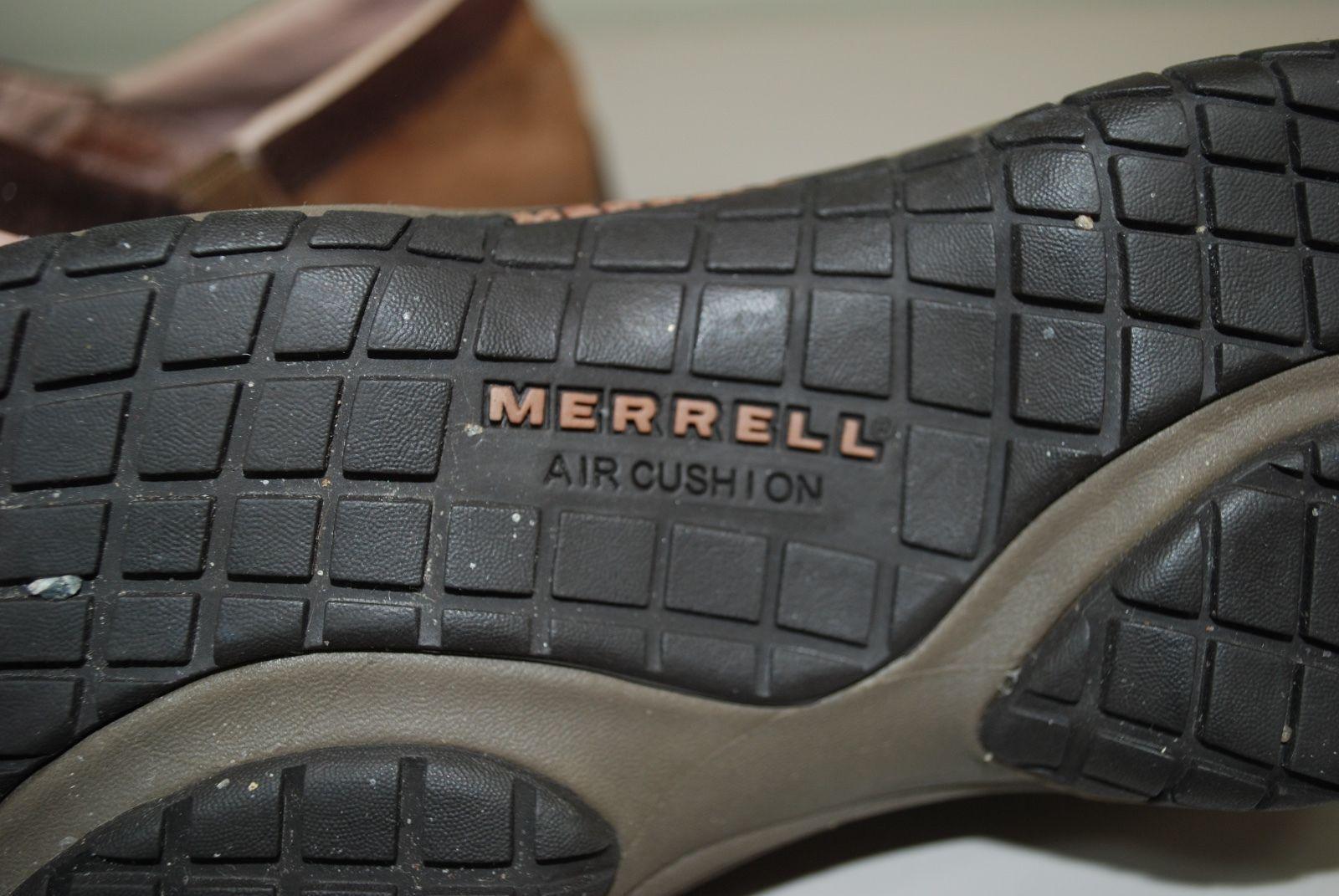 Merrell Encore Adams Brown Suede Leather Slip On Clogs/Mule Women's 7.5 Shoes