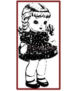 "Vintage Doll Pattern for 15"" Cloth Doll and Clothing - $5.99"