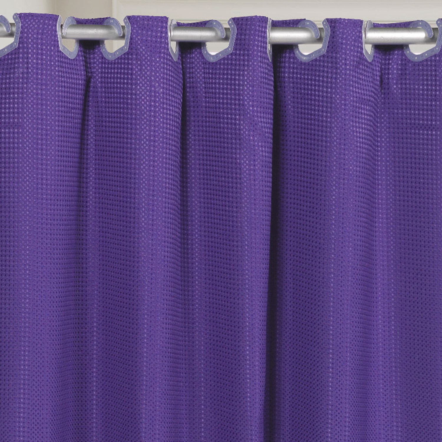 Fabric Shower Curtain Waffle Weave Hookless And 50 Similar Items