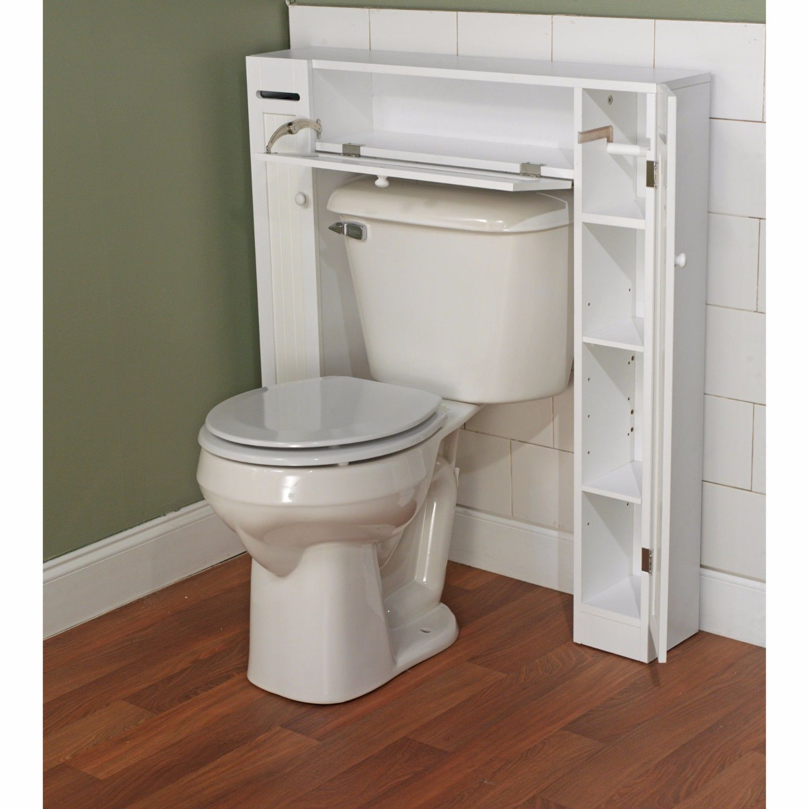 Simple Living Wood Bathroom Space Saver Over And 50 Similar Items
