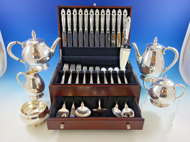 Royal Danish by International Sterling Silver Flatware Dn Set for 12 + T... - $6,210.00