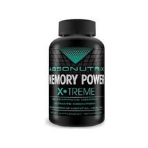 Absonutrix Memoria Potencia Xtreme Ayuda Mejora Mental Salud 60 Cápsulas Nuevo - $14.14