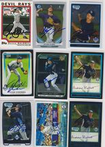 Tampa Bay Rays Signed Autographed Lot of (9) Baseball Cards - $14.99