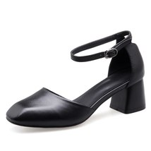 Women Woman New Mary Buckles Jane Four Sho Shoes FEDONAS Genuine Leather Season qZEnSBYxW