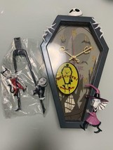 Nightmare Before Christmas Wall Clock Jack Pendulum Clock Wall Clock - $67.32