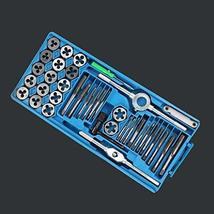 TkLines Standard Tap and Die Set 40 Piece w/Case Threading Chasing Repair - $27.72