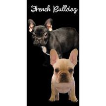 French Bulldog Velour Beach Towel - $17.95