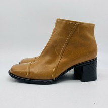 Clarks Womens Brown Ankle Boots Size 6.5 - $14.85