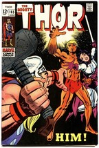 THOR #165 First Warlock / HIM Marvel Silver-Age Comic Book - $278.88
