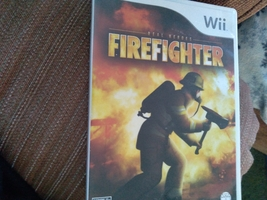Nintendo Wii Real Heroes: Fire Fighter image 1
