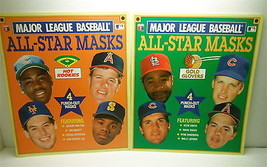1990 Major League Baseball All Star Masks Rookies + Gold Gloves Unused Pair  - $21.03