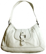 WILSONS White Leather Shoulder Bag Handbag Purse - $80.00