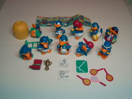 Kinder - 1996 Die Bingo-Birds - complete set + paper - surprise eggs - $11.00