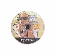 Grand Theft Auto San Andreas PS2 Playstation 2 Disc Only Free Shipping  - $9.85