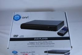 ONN Wal-Mart Brand DVD Player - AS-IS Disc Drive Jammed/No Remote - $4.99