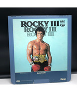 SELECTAVISION VIDEO DISC 1983 videodisc movie rca Rocky III 3 sylvester ... - $39.55
