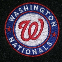 WASHINGTON NATIONALS    iron on embroidered embroidery patch baseball  logo mlb - $10.95