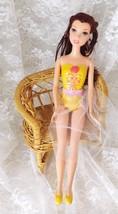 """2009 Mattel Disney Beauty & The Beast Ballerina Belle Doll 11 1/2"""" - New Skirt - $8.59"""